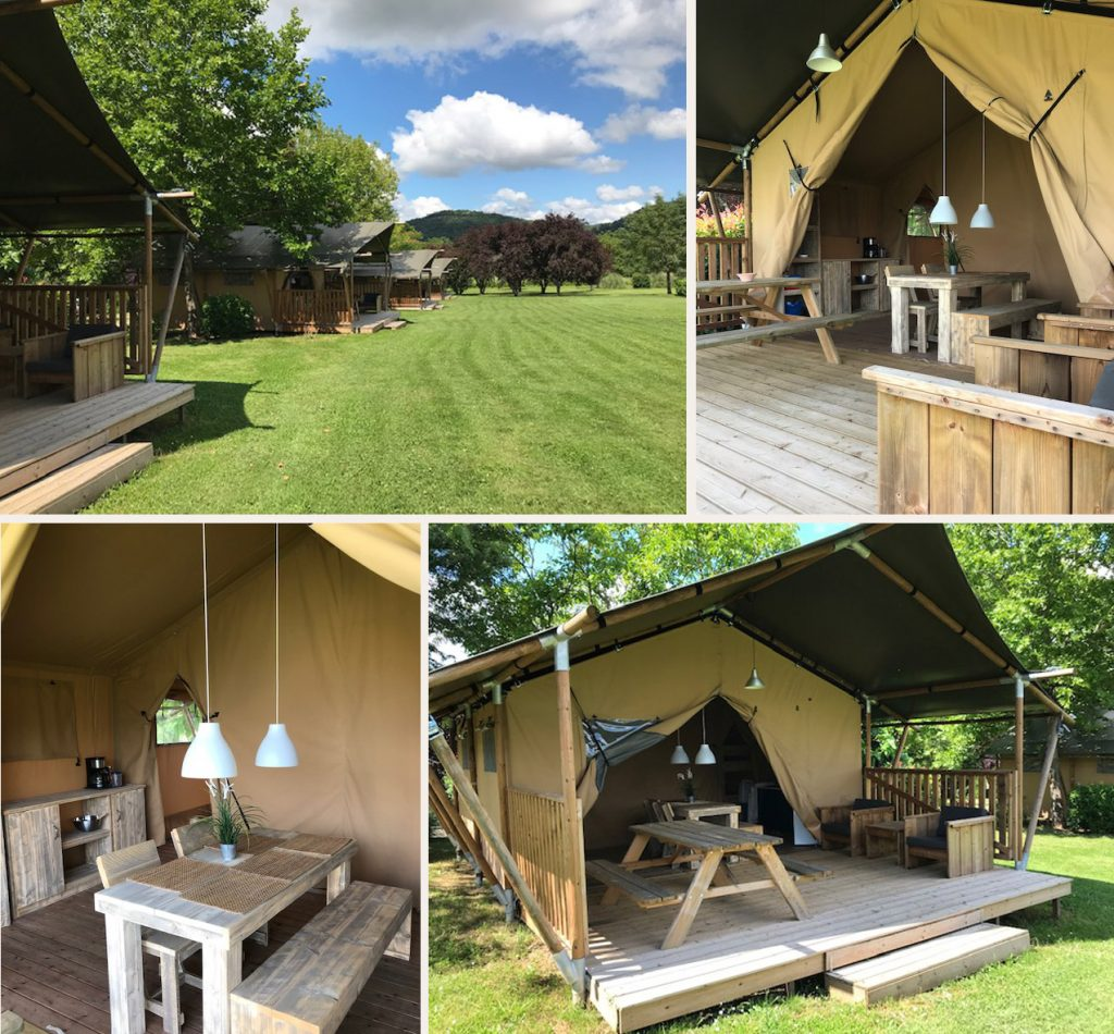 Location lodge camping